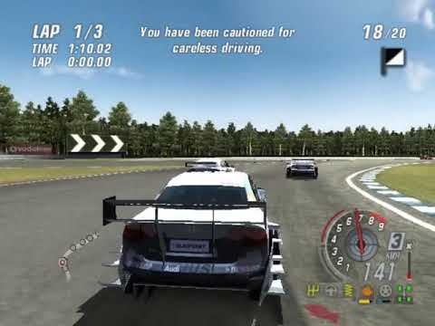 DTM Race Driver 3 HYPERSPIN SONY PS2 PLAYSTATION 2 NOT MINE VIDEOSEurope