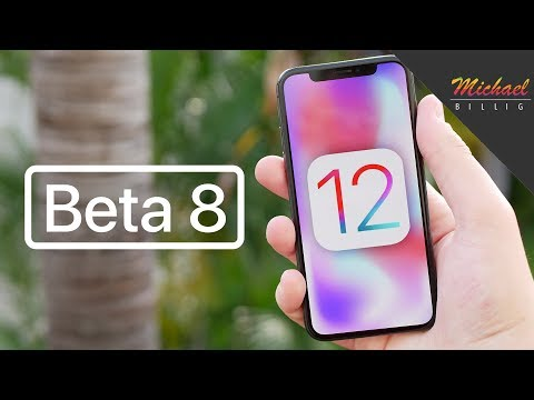 iOS 12 Beta 8 Released - What's New?