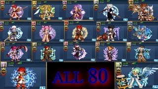 Grand Chase - ETerNo mostrando conta ALL 80