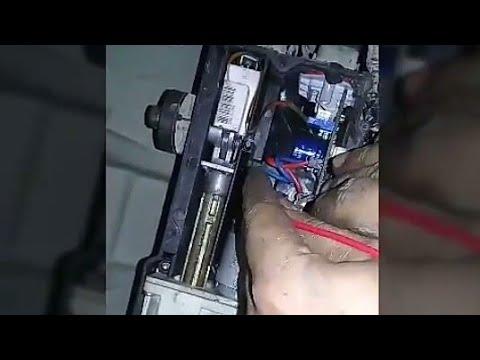 Range rover electronic parking repair