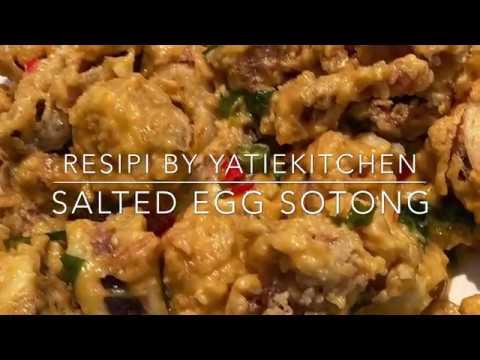 Yatiekitchen Resipi Salted Egg Sotong Youtube