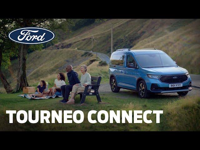Zo veelzijdig als u | Gloednieuwe Ford Tourneo Connect | Ford Belgium