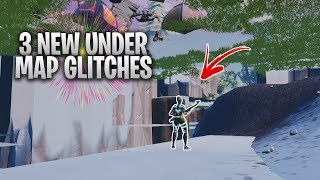 3 *NEW* UNDER THE MAP GLITCHES IN FORTNITE SEASON 7 - FORTNITE GODMODE/WALLBREACH