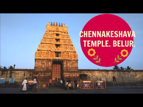 Places to see in Karnataka - Chennakeshava Temple, Belur