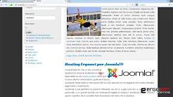 89 - Creazione di un template personalizzato - Il tema didattico per Joomla! 2.5