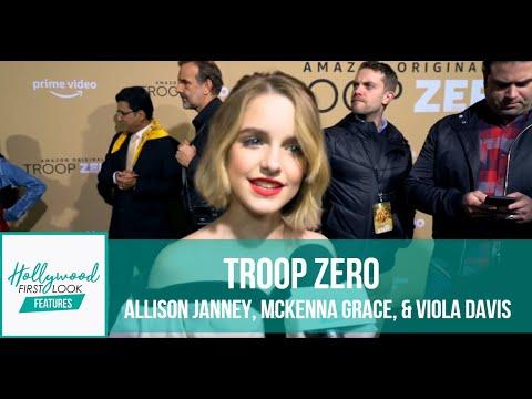 TROOP ZERO (2020) | LA PREMIERE With ALLISON JANNEY, MCKENNA GRACE, & VIOLA DAVIS With SARI COHEN