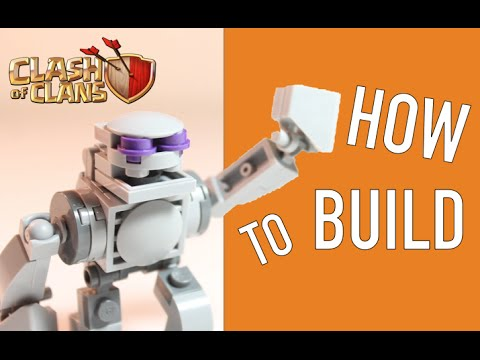 How to Build: LEGO Clash of Clans Mini-Golem (Updated)
