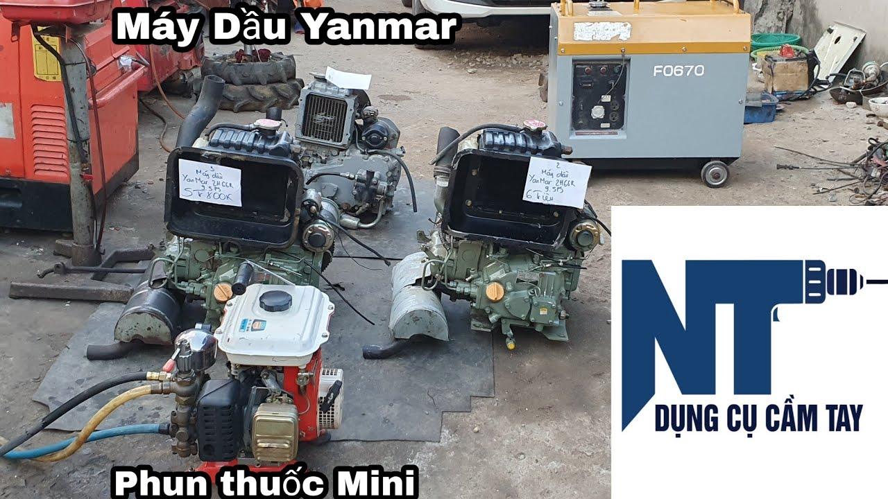 Phun thuốc rửa xe mini , Máy Dầu Yanmar 2h66 | LH 0914711438 | Ngày 9/5/2021