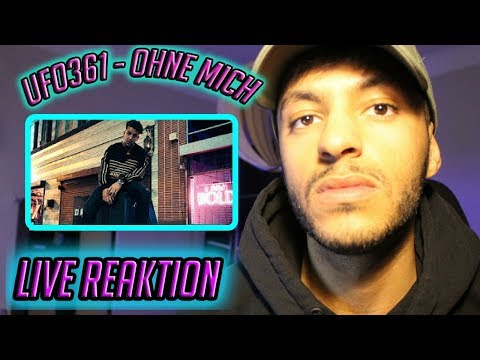 """Ufo361 - """"OHNE MICH"""" [Official HD Video] - Live Reaktion"""
