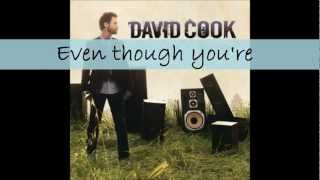 Watch David Cook Hard To Believe video