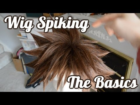 Cosplay Wig Spiking   The Basics