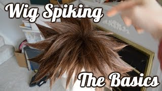 Cosplay Wig Spiking | The Basics