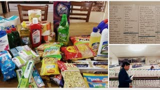 Indian Monthly Grocery Planning, Shopping & Organization|| Grocery Haul