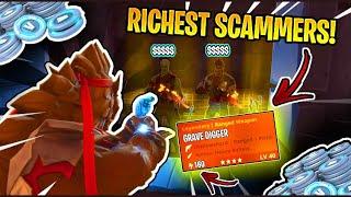 J'ai escroqué deux escrocs super riches! (Scammer Obtient Scammed) À Fortnite Save The World