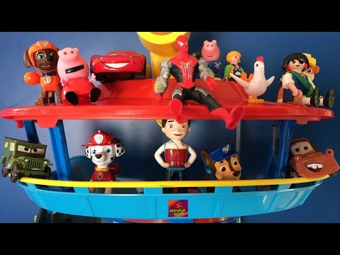 Peppa pig, patrulla canina, playmobil, blaze, dinotrux, Rayo Mcqueen videos - 100% Fun Toys Channel