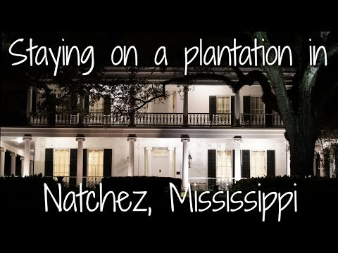 Winter Road Trip through the south Part 2: Natchez, Mississippi!