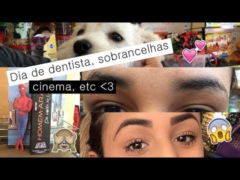 Mari Casou aos 17 - Vlog do dia - Dentista, cinema com o marido, e sobrancelhas #VEDA14