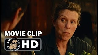THREE BILLBOARDS OUTSIDE EBBING, MISSOURI Movie Clip -Not Explaining Myself (2017) Frances McDormand