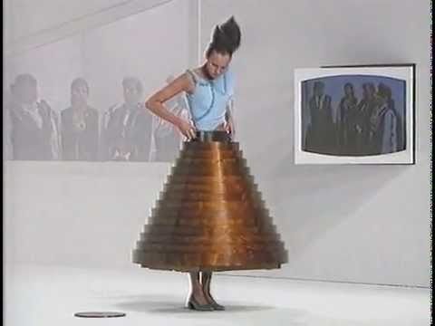 Part 2 Hussein Chalayan Autumn Winter 2000 Youtube