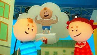 Аркадий Паровозов - Почему детям опасно поднимать тяжести - мультфильм детям