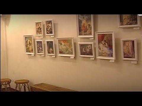 ТРК ВіККА: У Черкасах презентували авторські копії малярської спадщини Тараса Шевченка