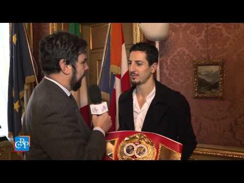 Il pugile Andrea Scarpa premiato a Palazzo Lascaris