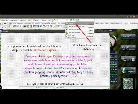 Tutorial Delphi - Ribbon Office DevExpress ( Developer Express )   Photo Slide Video
