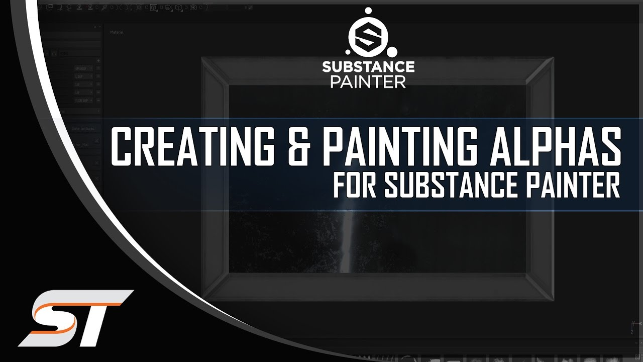 Creating & Painting Alphas in Substance Painter 2 0