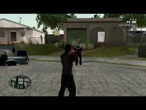HUD и оружие из GTA IV
