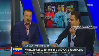 ¿Venezuela clasificaria en CONCACAF y Mexico no clasificaria en CONMEBOL? - Los Capitanes