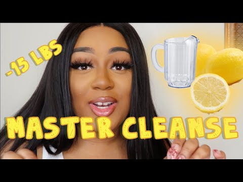 15 POUNDS IN 1 WEEK | MASTER CLEANSE