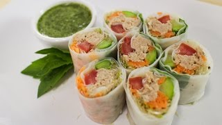 Tuna Spring Rolls - Hot Thai Kitchen