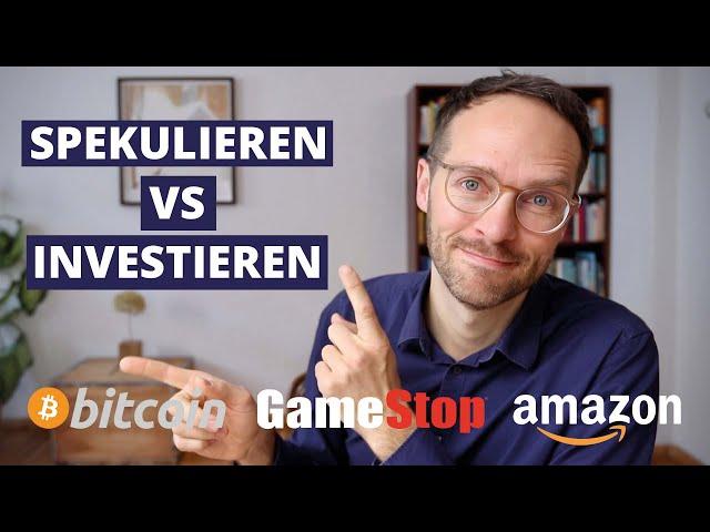 Mit Bitcoin, Gamestop und Co. zum Millionär? – So geht's nicht