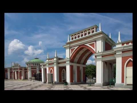 Tsaritsyno museum and reserve in Moscow