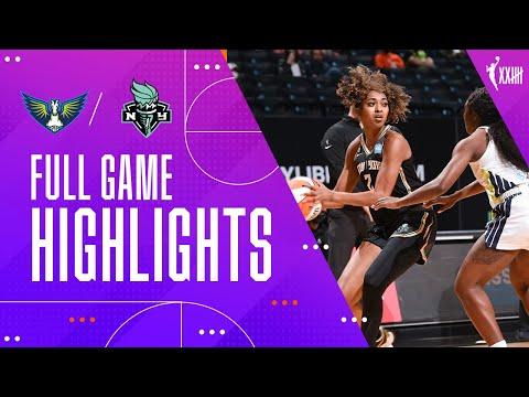 NEW YORK LIBERTY vs. DALLAS WINGS | FULL GAME HIGHLIGHTS | May 24, 2021