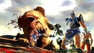 God of War: Ascension - Team Favors - Online Multiplayer Beta - The Desert of Lost Souls - HD