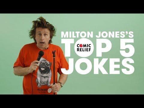 Milton Jones's Top 5 Comic Relief Jokes