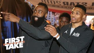 James Harden and Russell Westbrook are team players - Max Kellerman | First Take