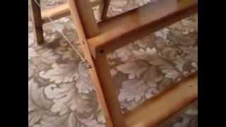 видео Стремянка своими руками из металла или дерева без чертежей: садовая лестница