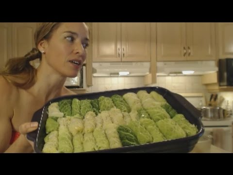 How to Cook Mom's Savoy Cabbage Rolls: Made in Niagara with Kimberly