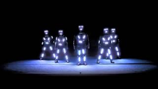 Light Show Dance Amazing Tron Dance Electro Techno Dance Act