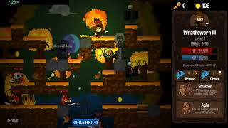 Vertical Drop Heroes HD any% speedrun in 41:47 [World record]