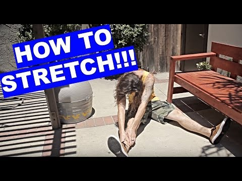 How to Stretch | Skate School Ep 39