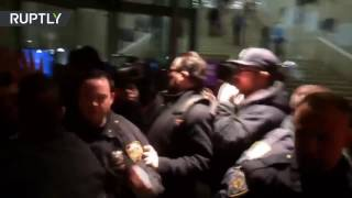 Violence erupts as antifa picket VICE co-founder Gavin McInnes' NYU event
