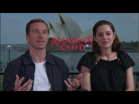 Assassin's Creed Movie Interview With Michael Fassbender And Marion Cotillard
