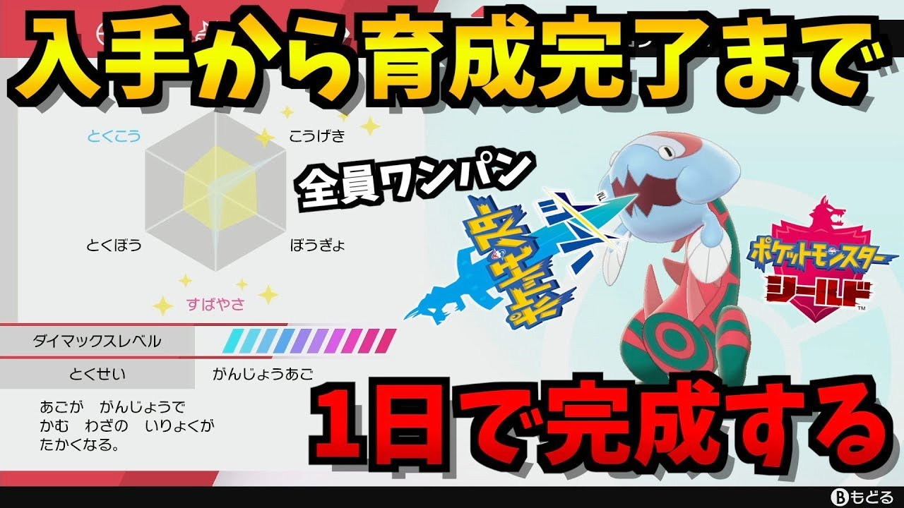 剣 盾 ドーピング ポケモン