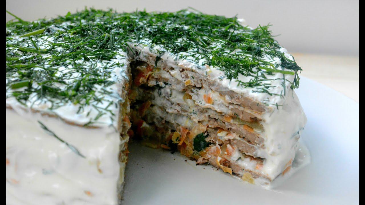 Печеночный торт - пошаговый рецепт с фото на Повар. ру
