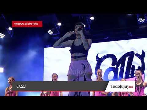 Cazzu: la reina del trap es jujeña y la rompió en el Carnaval de Los Tekis