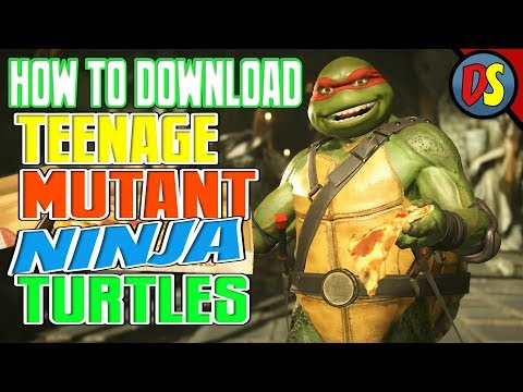 INJUSTICE 2: HOW TO DOWNLOAD TMNT!