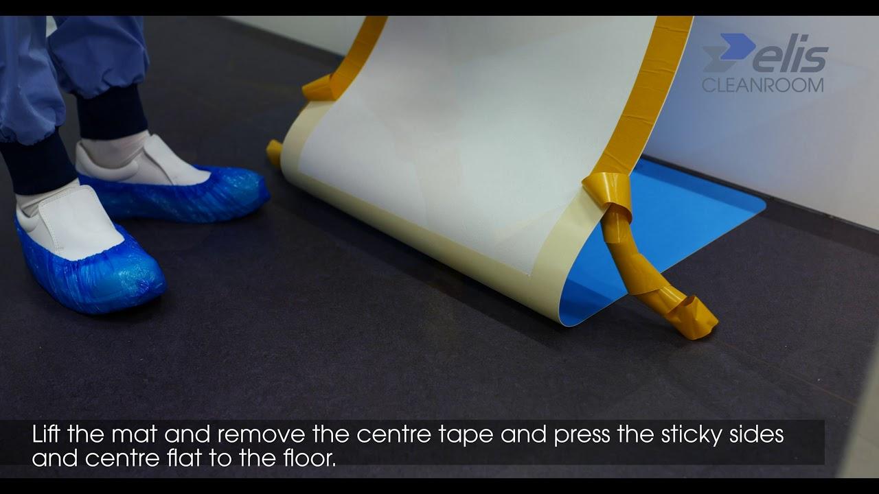 Elis Cleanroom Flexi Mat Installation